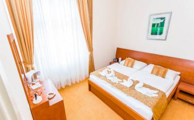 Sleep in comfortable modern rooms