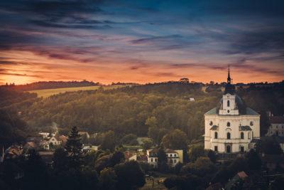 Besuchen Sie Schloss Křtiny